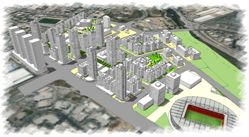 הדמיית קריית פארק לכיש, עיריית אשדוד