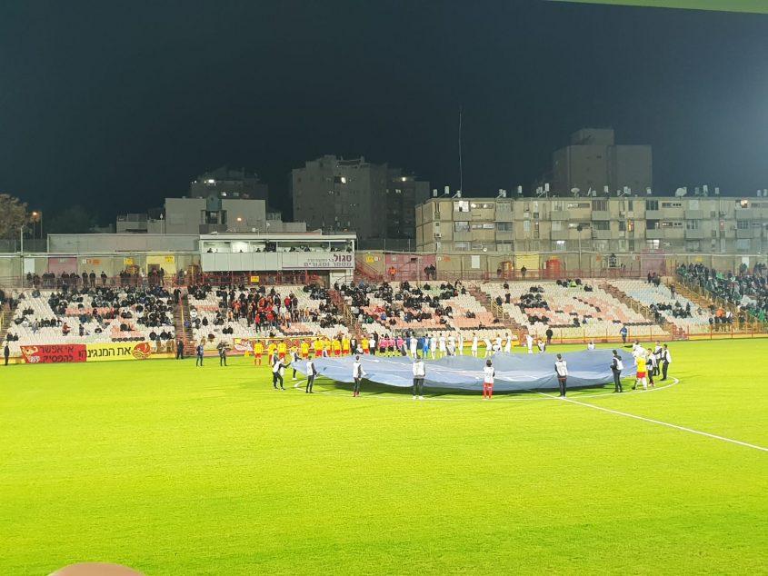 תמונת ארכיון: מ.ס אשדוד מארחת את מכבי חיפה צילום: ליאב אחאבן