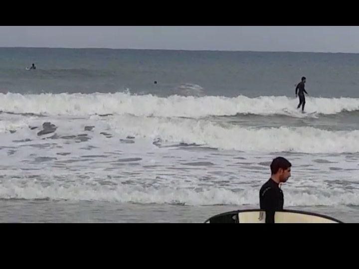 תחרות גלישה באשדוד, חוף הקשתות. צילום: שמואל דוד