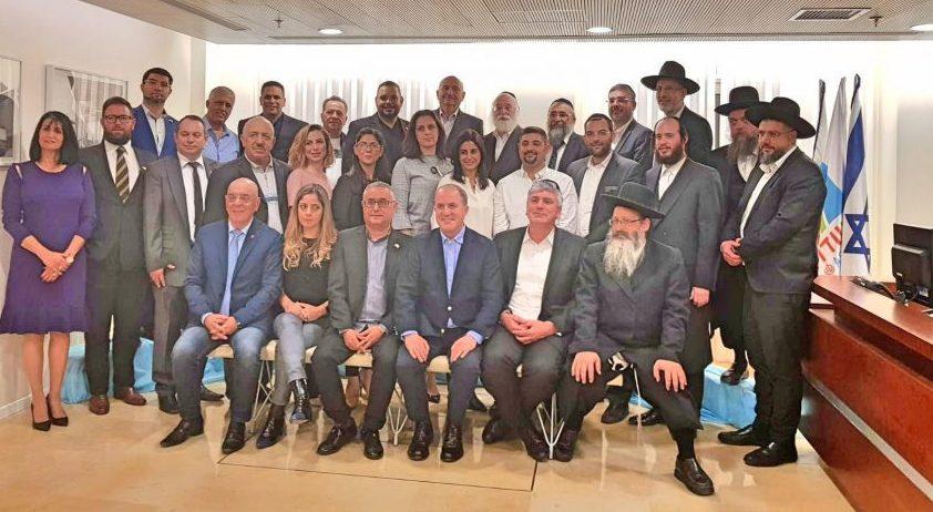 חברי מועצת העיר אשדוד. צילום: דוברות העירייה