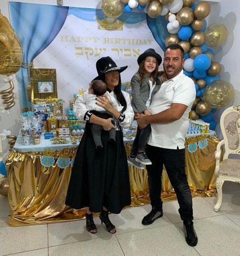 סיון ויניב חוגגים יום הולדת 4 אביר יעקב