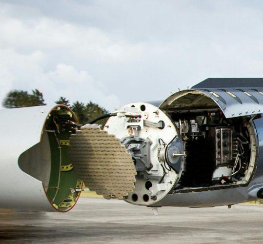 """מכ""""ם מוטס מדגם ELM-2032. צילום: אלתא, התעשייה האווירית"""