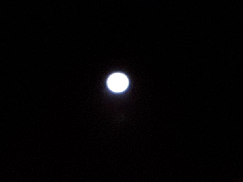 מזל שיש ירח. אשדוד, הערב. צילום: דור גפני