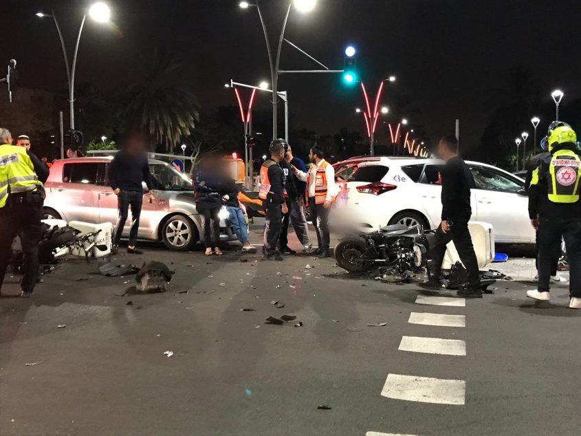 תאונת דרכים צילום: איחוד הצלה