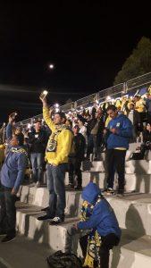 האוהדים הצהובים יקוו לניצחון ביתי. צילום: בן אקג'ני.