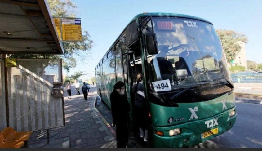 אוטובוס אגד, ארכיון. צילום: אליהו הרשקוביץ
