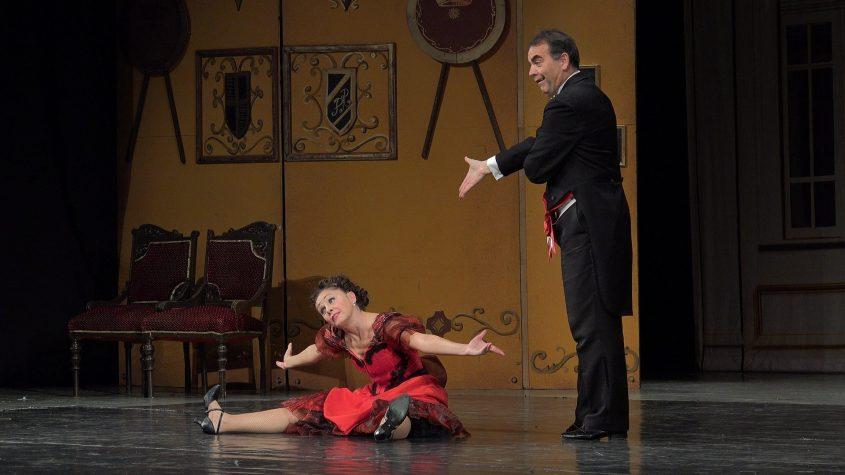"""מתוך האופרטה """"האלמנה העליזה"""" צילום: Mr Kalman Nagy"""