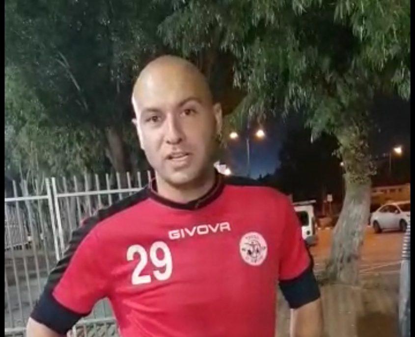 אימון ראשון במדי האדומים, ברוכיאן. צילום: ליאב אחאבן