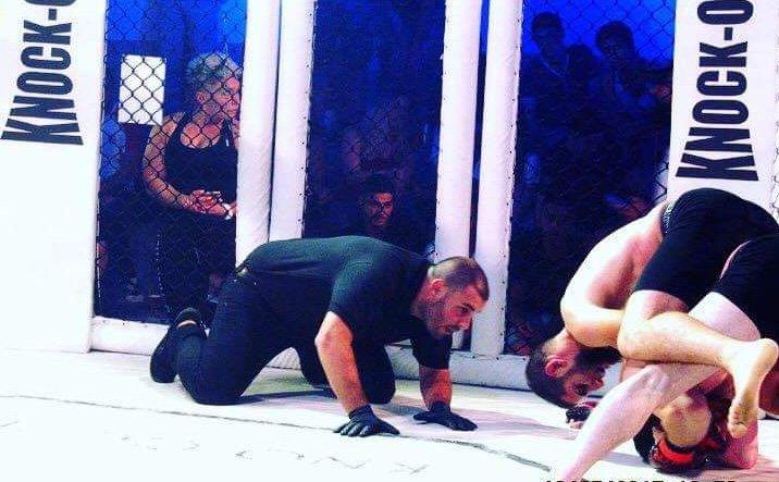 עומר לוי שופט בתחרות mma. צילום: אריה ארון