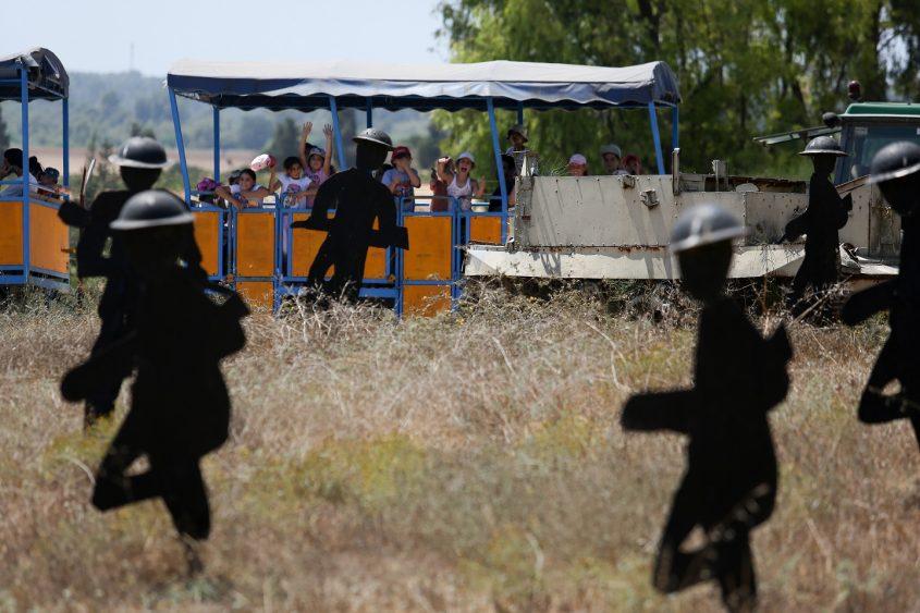 אתר שחזור הקרב באדיבות: תיירות קיבוץ יד מרדכי