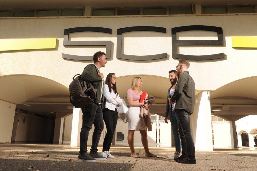 סטודנטים במכללת סמי שמעון. צילום: יובל קנר