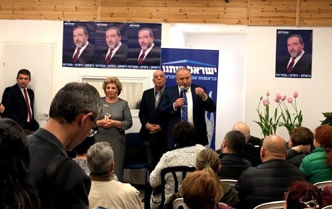 ליברמן פתח את מטה ישראל ביתנו באשדוד