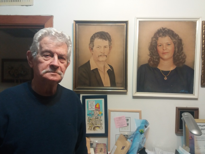 תמונות ורפרודוקיות בבית של צבי צילקר-שני מלכה001