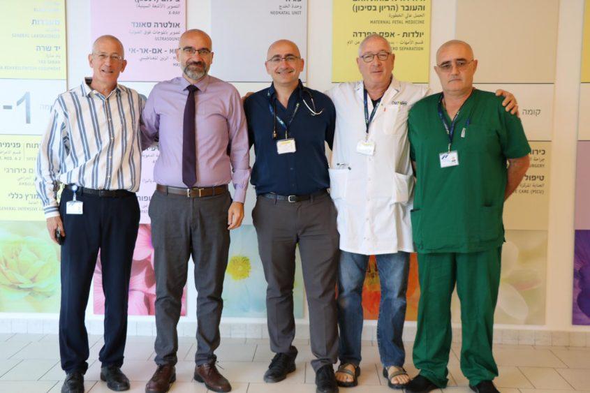 שיתוף פעולה בבית החולים באשדוד. צילום: אסותא אשדוד