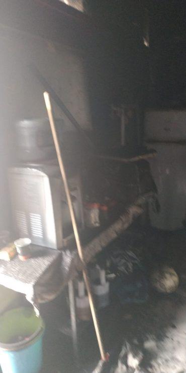"""המועדון של קבוצת בית""""ר אשדוד נשרף בעקבות קצר במזגן. צילום: יוסי כנפו."""