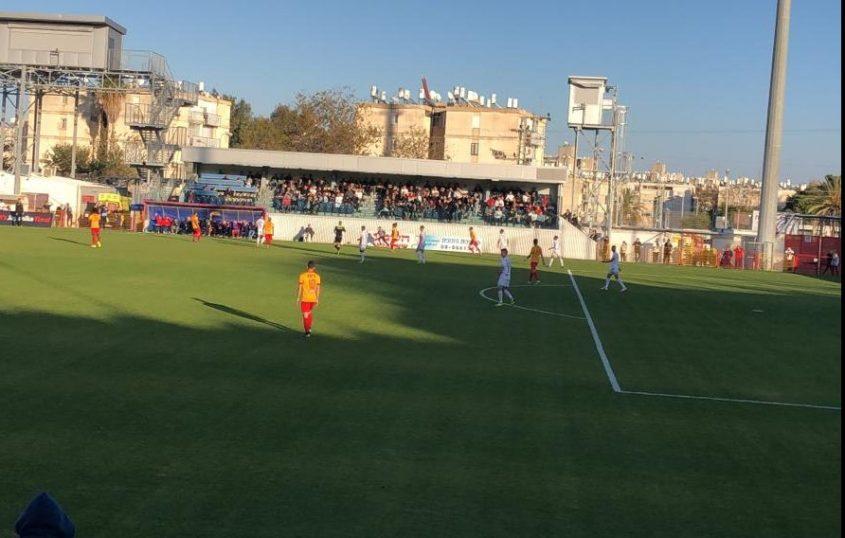 משחק בכורה והפסד ראשון למשה אוחיון. מ.ס נגד חדרה היום באשדוד. צילום: איליי אביטן