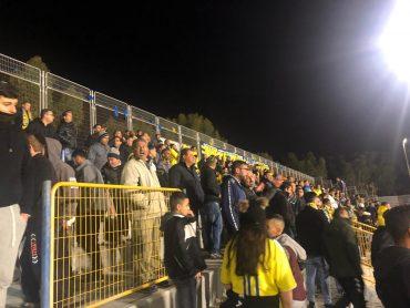 הקהל של עירוני. צילום: עומר אוליאל