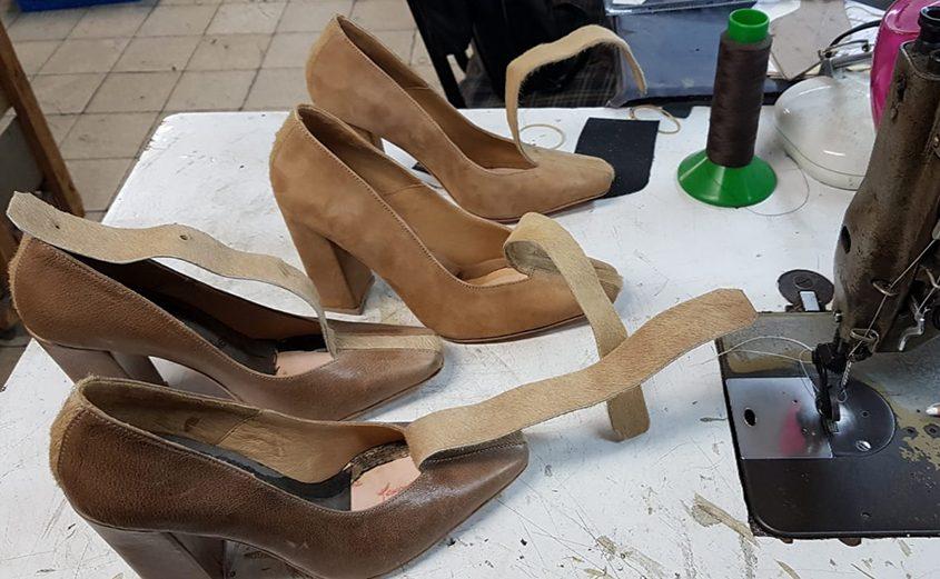 נעליים בעיצוב של יערה ארפי. צילום יערה ארפי