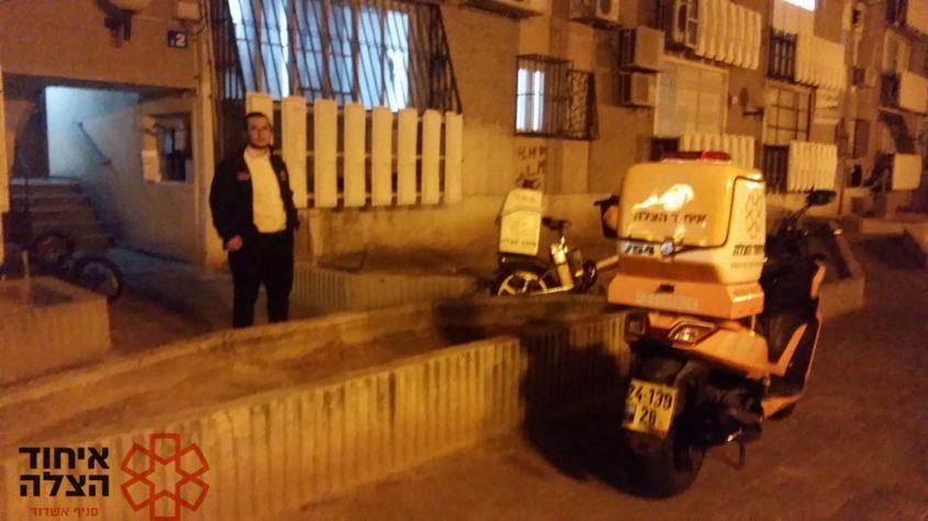 חובשים בזירה ברובע ג'. צילום: איחוד הצלה