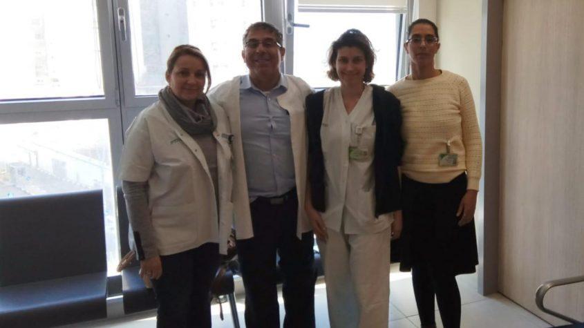 צוות המרפאה צילום: אופיר לוי, כללית