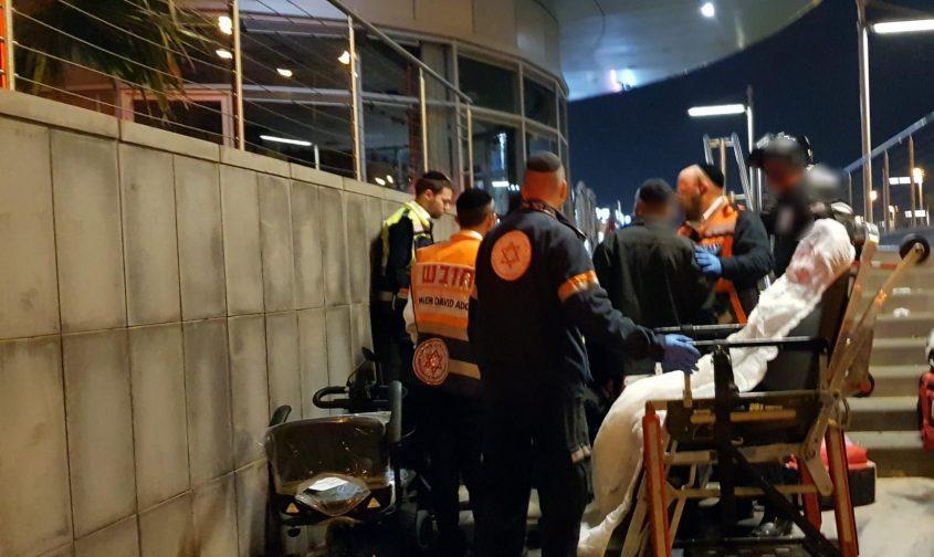 זירת התאונה הערב. צילום: דוברות איחוד הצלה.