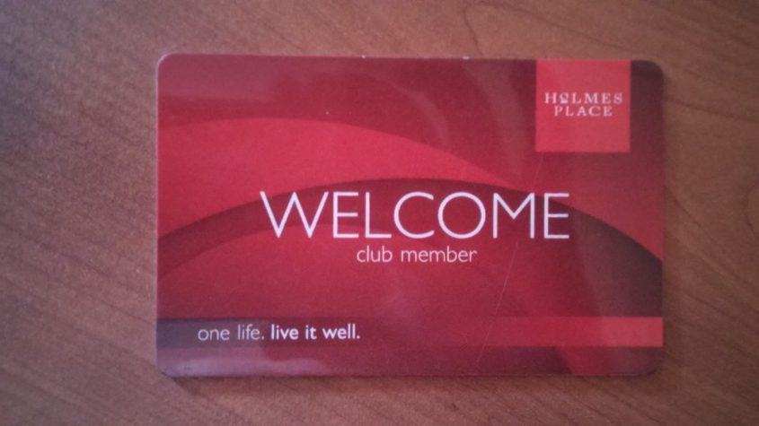 כרטיס חבר מועדון הולמס פלייס. צילום מתוך ויקיפדיה