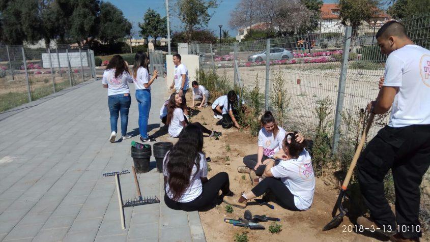 יום המעשים הטובים באדיבות: המועצה המקומית גן יבנה