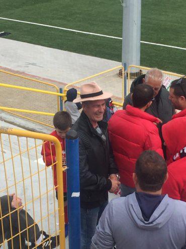 אביו של לישי ביטון זכה לראותו מבקיע. צילום: ליאב אחאבן.