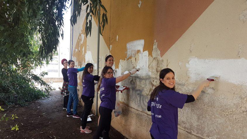 פעילות התנדבותית במינהלת ג' באדיבות: מינהלת רובע ג'