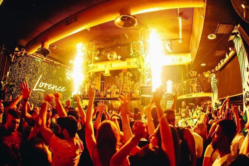 מסיבה במועדון ה״לורנס״. צילום: דניאל אטדגי