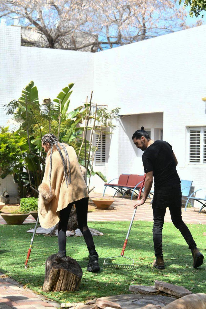 יום מעשים טובים בבית ״אלמוג״. צילום:פבל