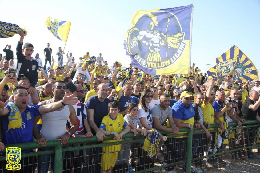 קהל עירוני אשדוד. צילום: מוטי קדוש
