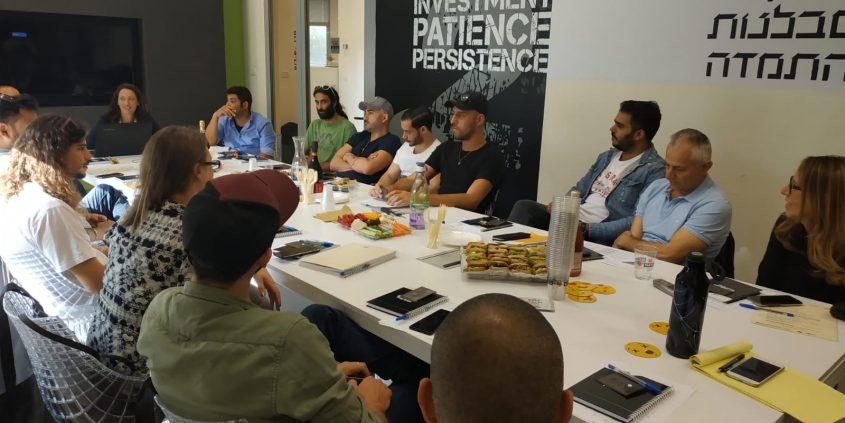 מנהלי ברים ומסעדות באשדוד במפגש ראשון של פורום חיי הלילה בעיר. צילום: מעוף מרחב דרום