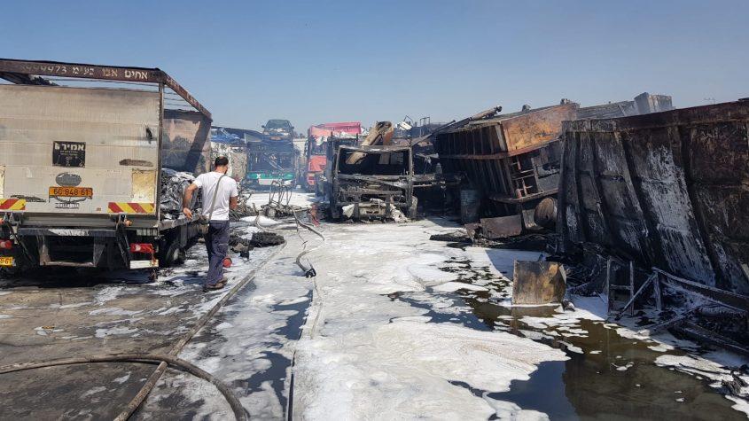 צילום: דוברות כבאות והצלה מחוז דרום