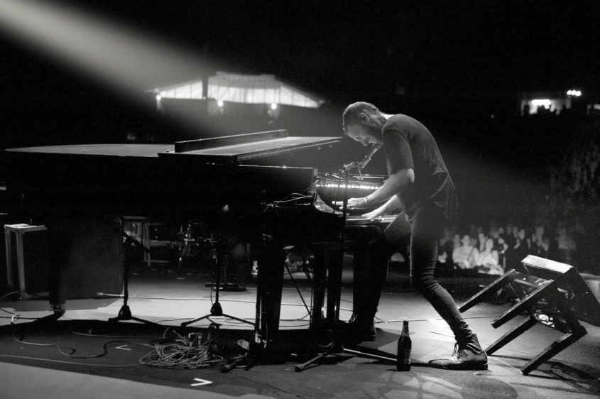 שלומי שבן על הפסנתר צילום: ליאור כתר