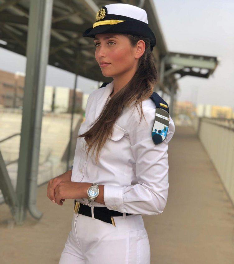סגן יולי זיו. צילום אלבום פרטי