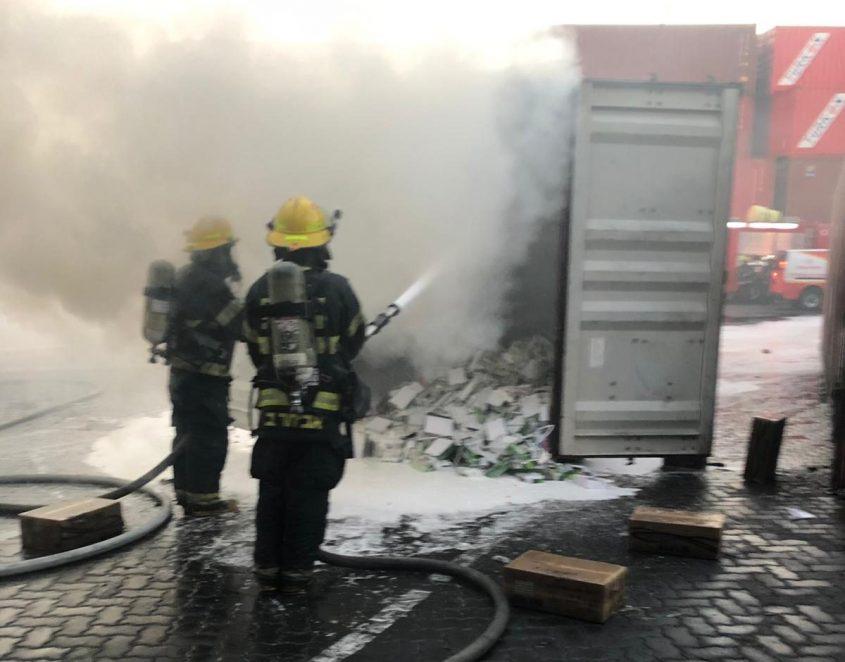 צילום: דוברות כבאות והצלה תחנת אשדוד