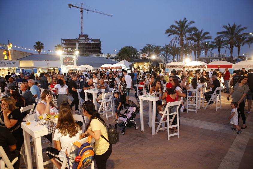 פסטיבל האוכל הים-תיכוני 2019. צילום: פבל