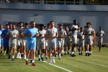 לישי ביטון באימון הפתיחה של מ.ס אשדוד (מספר 55). צילום: טל אקוקה.