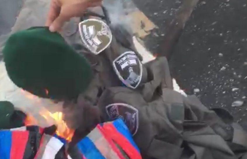 """מחאת יוצאי אתיופיה נעצר חשוד בשריפת מדי מג""""ב"""