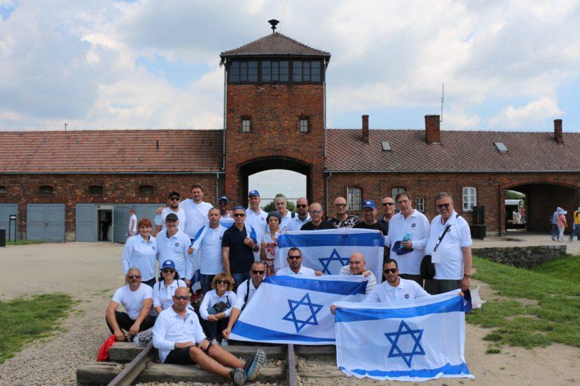 משלחת מטעם נמל אשדוד יצאה למסע לפולין