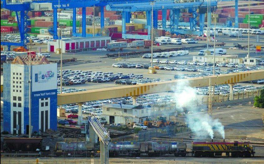 נמל אשדוד. צילום: אילן אסייג