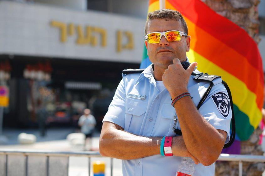 פורטל במצעד הגאווה באשדוד. צילום: פבל