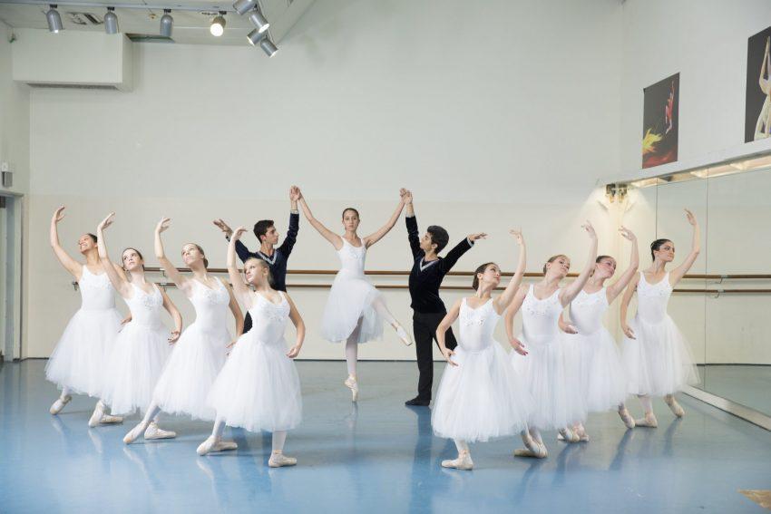 """תלמידי """"בית הספר לבלט פאנוב"""". צילום: מריה וויסמן"""