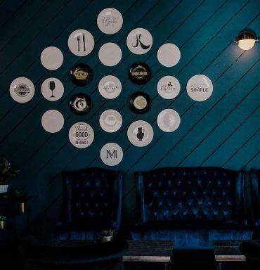 לובי במסעדת השף בלוס אנג'לס בעיצוב סלי. צילום: מסעדת שף בלוס אנג'לס בעיצובה של סלי. צילום: Kinsey v photography, Los Angeles