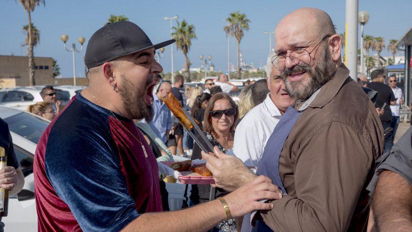 מפגש הקולינארים: דניאל דנינו וגל זהבי. צילום: פבל