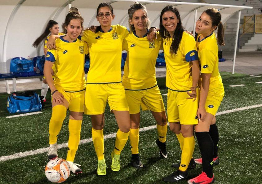 הנה הן באות: קבוצת כדורגל הנשים הראשונה באשדוד