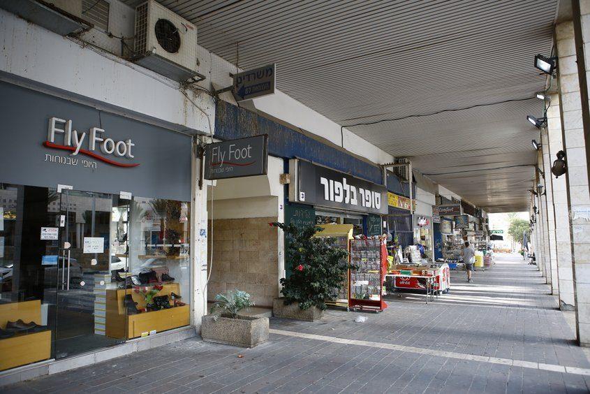 איזור סיטי אשדוד, ריק מאנשים. צילום: פבל