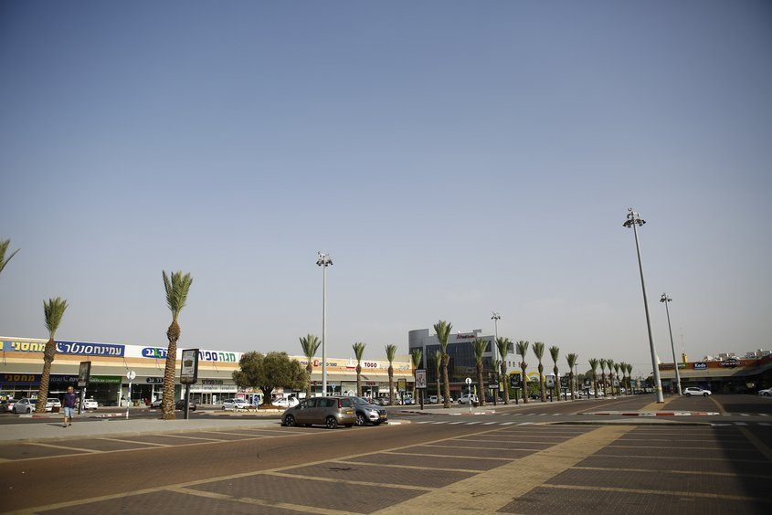 מתחם הסטאר-סנטר באיזור תעשייה אשדוד. צילום: פבל