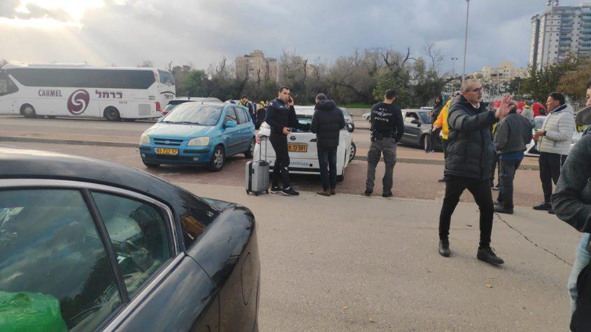 צפו: המהומה בסיום המשחק בין עירוני אשדוד לחולון